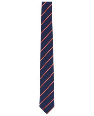 Gestreifte Krawatte Windsor DAL LAGO