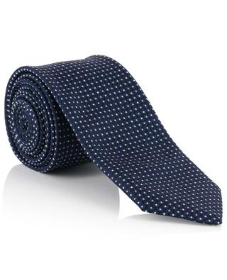 Cravate à pois Windsor DAL LAGO