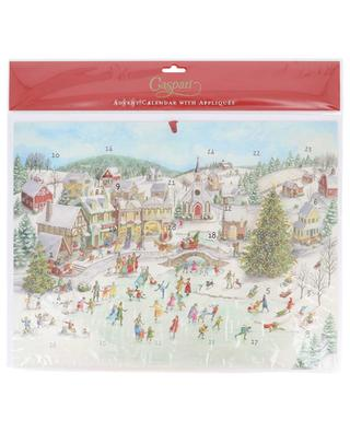 Scating Pond Advent calendar CASPARI