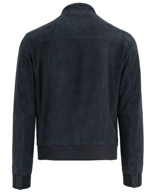 Perforated suede jacket GIMO'S