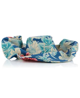 Floral printed cotton hat ETRO