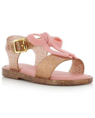 Mini Melissa Mar glitter PVC sandals MELISSA