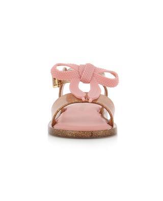 Glitter-PVC-Sandalen Mini Melissa Mar MELISSA