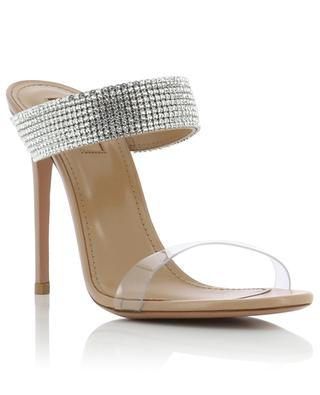 Spritz leather and Plexiglass mules AQUAZZURA