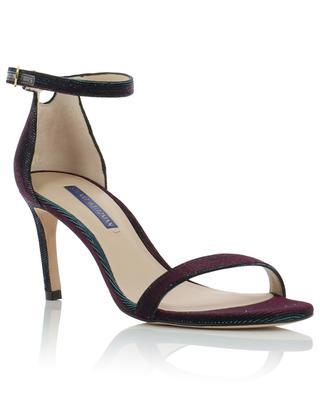 Sandales irisées en tissu Nunakedstraight STUART WEITZMAN