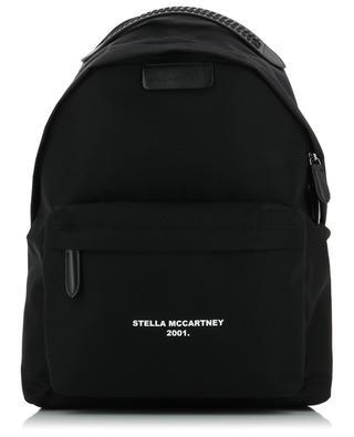 Rucksack aus Nylon Logo Go STELLA MCCARTNEY
