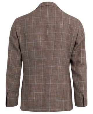 Linen and wool check blazer BELVEST