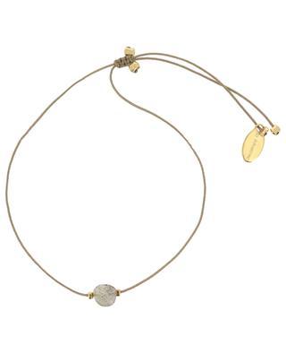 Bracelet sur cordon avec labradorite BY JOHANNE