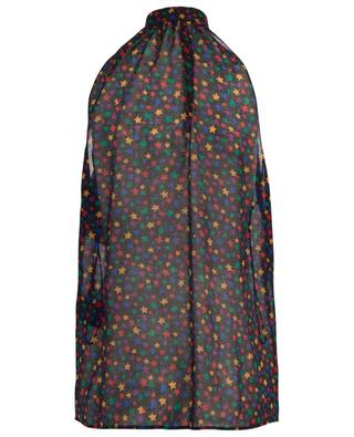 YSL Stars sleeveless wool blouse SAINT LAURENT PARIS