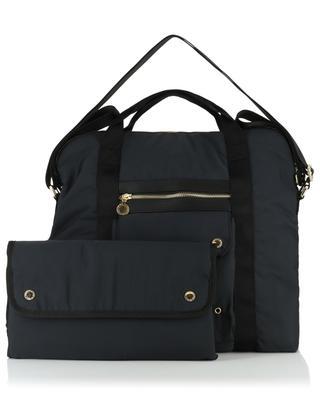 Nylon maternity bag with mat STELLA MCCARTNEY