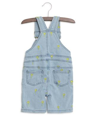 Palms embroidered denim dungarees STELLA MCCARTNEY