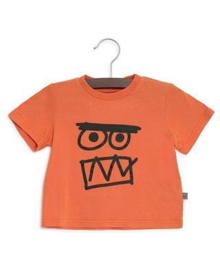 T-Shirt mit Print aus Baumwolle Face STELLA MCCARTNEY