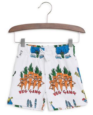 Veg Gang printed cotton shorts STELLA MCCARTNEY