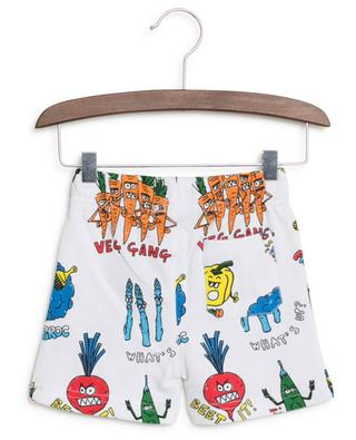 Veg Gang printed cotton shorts STELLA MCCARTNEY