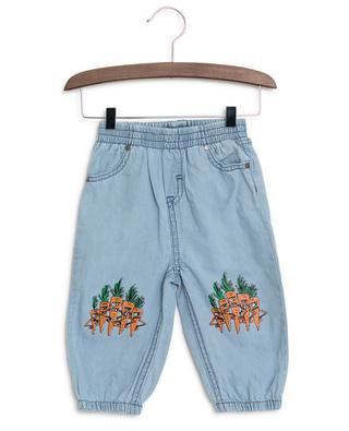 Pantalon en chambray Veg Gang STELLA MCCARTNEY