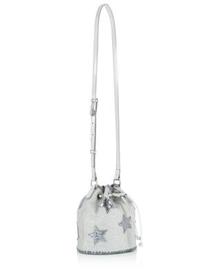 Glitter bucket bag with stars STELLA MCCARTNEY
