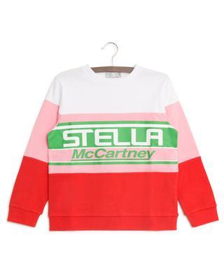 Sweatshirt aus Baumwolle mit Logo STELLA MCCARTNEY