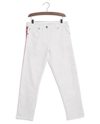 Logo Tape straight jeans STELLA MCCARTNEY