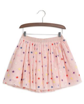 Multicolour Stars short embroidered tulle skirt STELLA MCCARTNEY