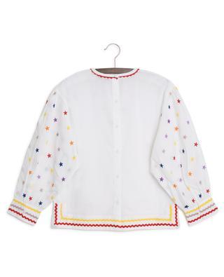 Bestickte Bluse Multicolour Stars STELLA MCCARTNEY