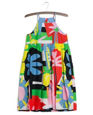 Robe à bretelles Multicolour Palms STELLA MCCARTNEY