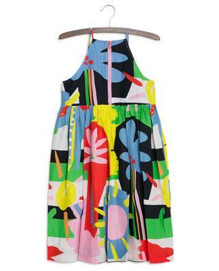 Multicolour Palms strappy dress STELLA MCCARTNEY