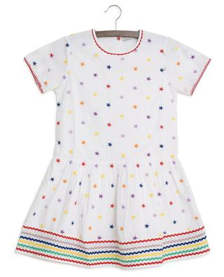 Robe brodée Multicolour Stars STELLA MCCARTNEY