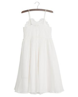 Openwork stitching adorned dress STELLA MCCARTNEY