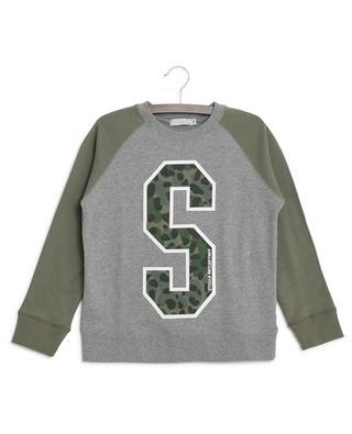 Sweatshirt aus Baumwolle Camo Logo STELLA MCCARTNEY