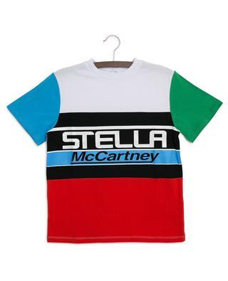 Stella Logo colour block T-shirt STELLA MCCARTNEY