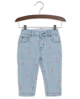 Palms embroidered jeans STELLA MCCARTNEY