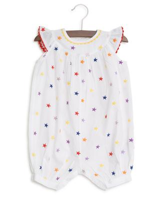 Multicolour Stars organic cotton playsuit STELLA MCCARTNEY