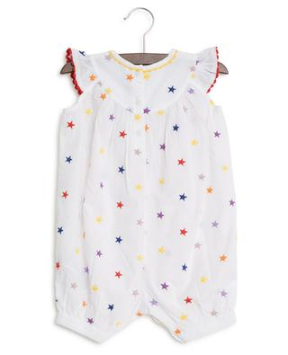 Barboteuse en coton bio Multicolour Stars STELLA MCCARTNEY
