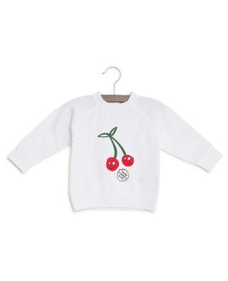Sweat-shirt à message Cherry Cute STELLA MCCARTNEY