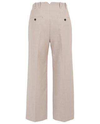 Pantalon large raccourci en coton mélangé WINDSOR