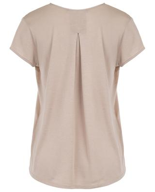 V-neck silk and cotton top WINDSOR