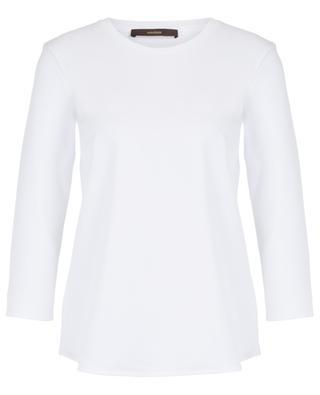 Cotton round neck top WINDSOR