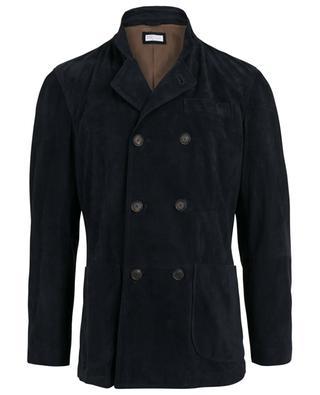 Kurzer Mantel aus Wildleder BRUNELLO CUCINELLI