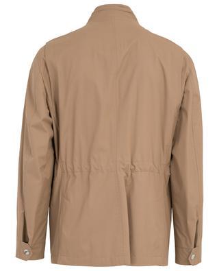 Rain coat with hidden hood BRUNELLO CUCINELLI