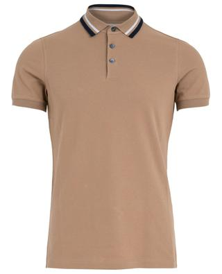 Cotton piqué polo shirt BRUNELLO CUCINELLI