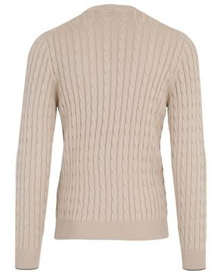 Cotton cable knit jumper BRUNELLO CUCINELLI