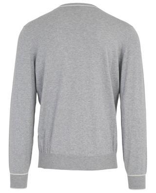 Langärmliges T-Shirt aus Baumwolle BRUNELLO CUCINELLI