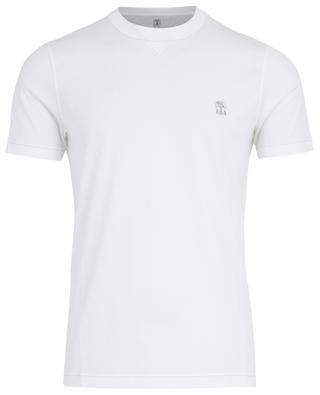 T-Shirt aus Baumwolle BRUNELLO CUCINELLI
