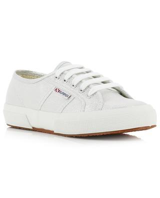 Sneakers aus silbrigem Stoff 2750 SUPERGA