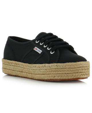 2730 canvas and rope sneakers SUPERGA
