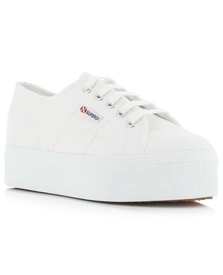 Plateausneakers aus Segeltuch 2790 - Linea Up and Down SUPERGA