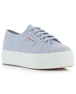 2790 - Linea Up and Down canvas platform sneakers SUPERGA