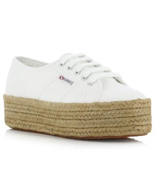 2790 canvas and rope sneakers SUPERGA