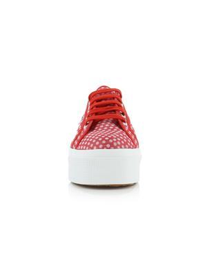 Sneakers aus Organzo mit Tupfenprint 2790 SUPERGA