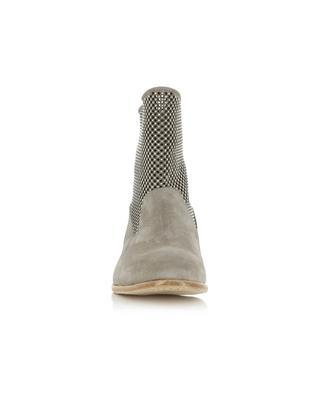Bottines en daim avec perforations et studs FRU.IT